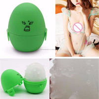 Wholesale Flashlight Masturbator Pocket Eggs 66*60mm for Men Male Sex Toys Penguin Shape Realistic Vigina Cute Pussy