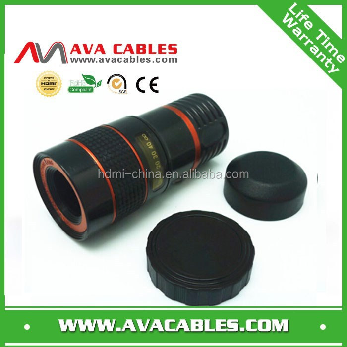 hot mobile phone lens telescope 8x 12x universal telescope lens