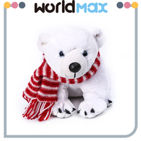 Funny Design Baby And Kids And Baby Polar Bear Toy Plush