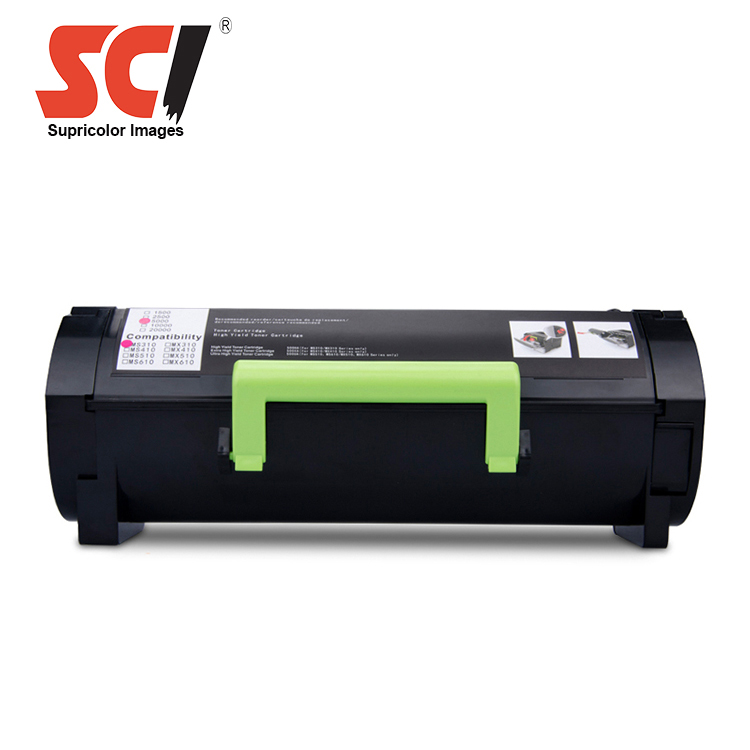 compatible copier toner cartridge for lexmark mx310dn ms410 mx410de mx510de