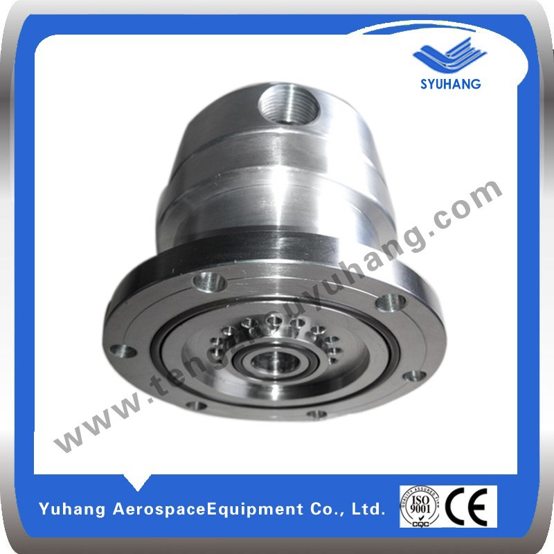 Flexible stainless steel rotary joints for rubber molding machine