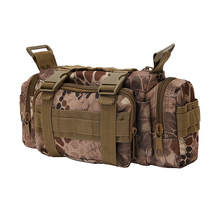 Military outdoor hunting travel utility EDC deployment tactical shoulder waist Bag