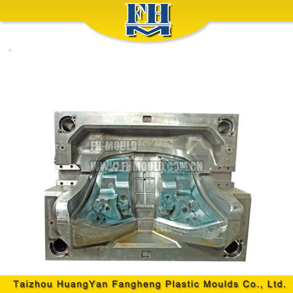 plastic car light injection molds making mold for auto tail lamp
