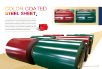 color coated/cold rolled prepainted galvanized steel coil used for roof sheet/in Yike on alibaba