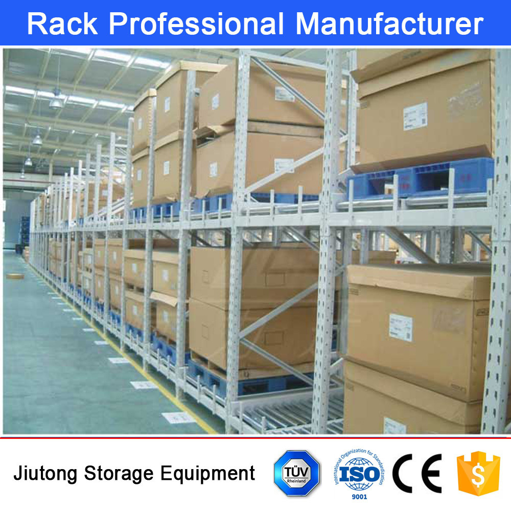 China Best Supplier Suitable for Perishable Food Storage FIFO Metal Gravity Carton Flowing Rack