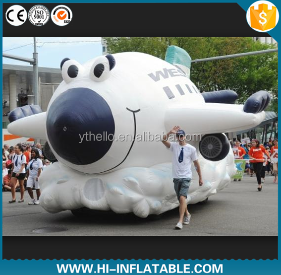 HOT sale! New Design Outdoor Custom Advertising Model Inflatable Plane, Large Inflatable Airplane