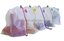 grocery shopping use fruit vegetable produce storage bag mesh bag for garden produce