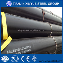schedule 40 straight welded pipe/LSAW sch 10 carbon steel pipe in Tianjin