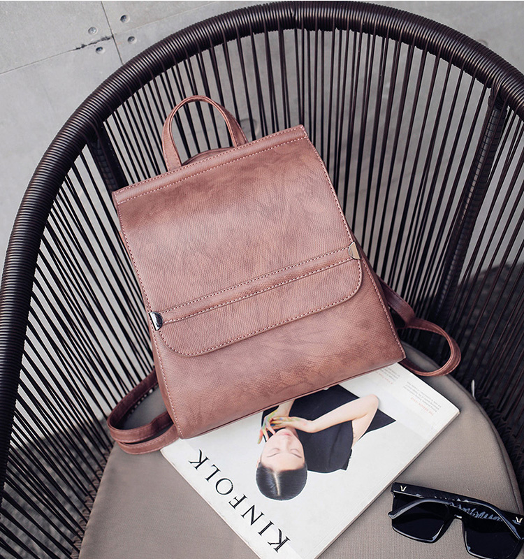 wholesale alibaba custom 2017 high quality women PU leather <strong>backpack</strong>