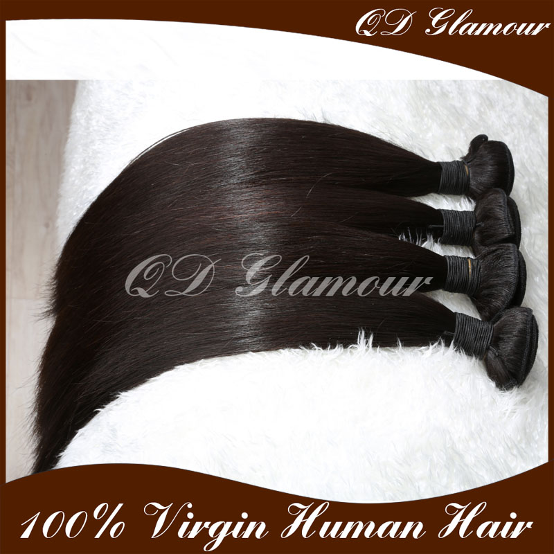 8A grade Brazilian hair sew in human hair extensions 100% raw virgin hair extension buy online