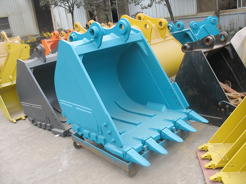 China factory direct sale Kobelco SK200 excavator spare parts of rock bucket
