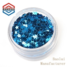 abrasion resistant wholesale pet spangle sequin for textile