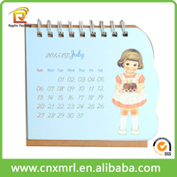 Customized desktop calendar stand 2016