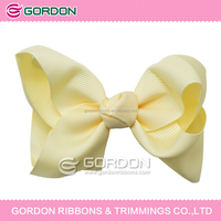 new design decorative stocking hair ribbon flowers for women