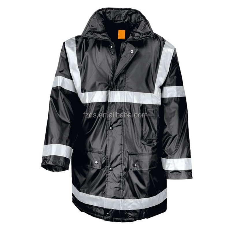 Safety High Visibility Waterproofed Uniform with Reflective Stripes