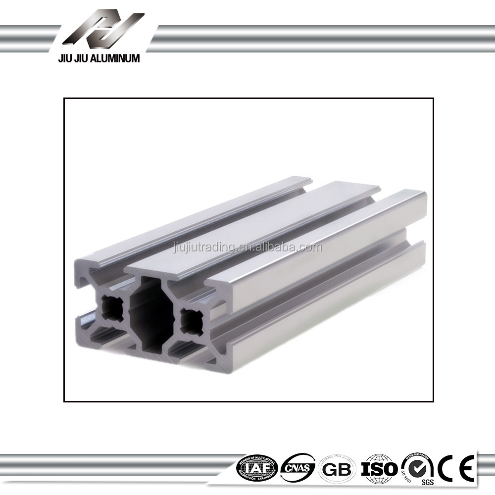 Clear anodizing 25x25 alloy aluminium extrusion rack profile