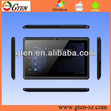 "4GB 7"" Android 4.2 A13 mid tablet pc manual Q88"