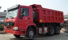 HOWO 10 wheels dump truck dumper price for sale