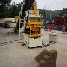 Small scale ZX 1-10 clay brick making machine price for block