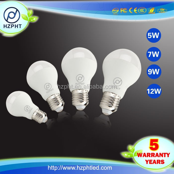 BV test indoor smudge pot 12v led light bulb 9W led bulb e15