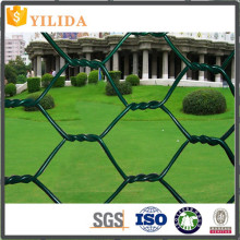 3/4 inch Green Pvc coated hexagonal wire netting