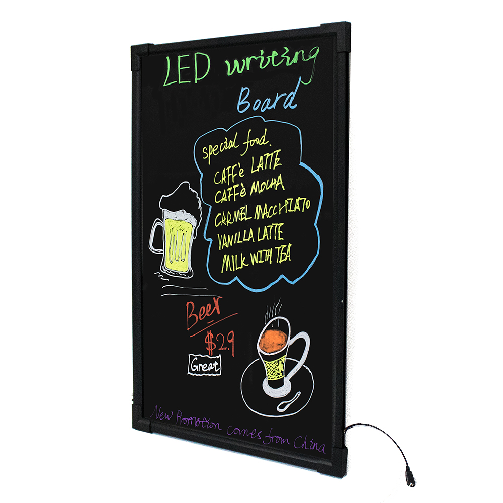 LED writing board advertising led screen illuminate message board high quality for shop