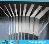 flexible thickness clear plexiglass sheet for display