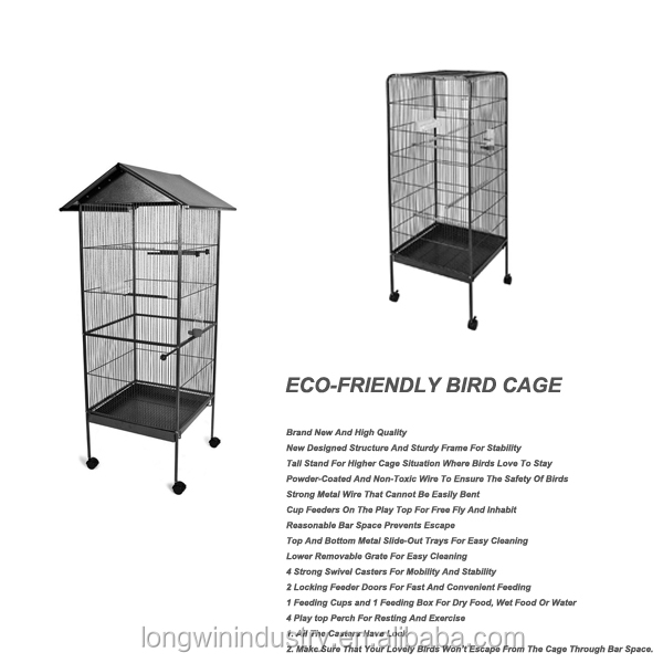 wholesale large canary bird breeding cage