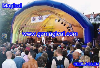 inflatable stage tent inflatable advertising tent inflatable tent