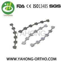 dental orthodontic material lingual retainer bonding splints