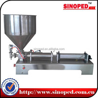 semi automatic gear pump filling machine