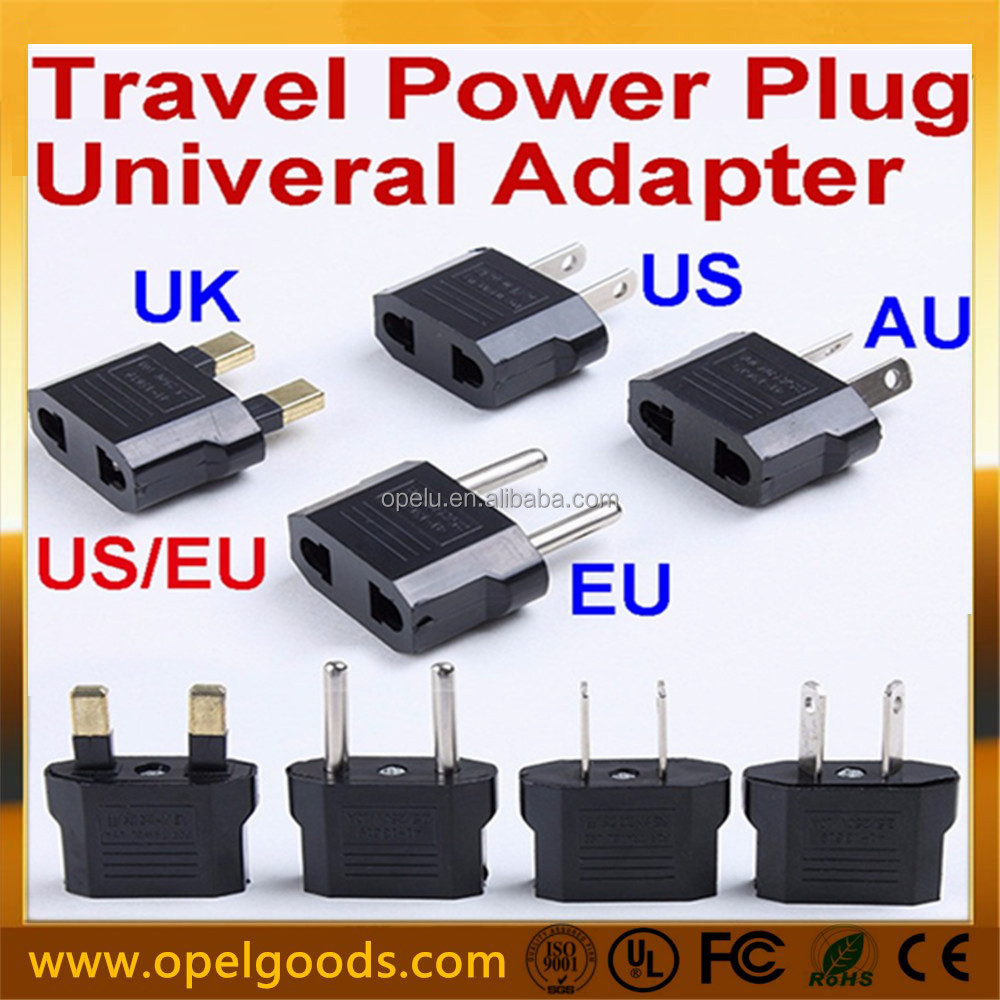 100V to 240V Plug Adapter US USA CANADA to EU Europe Travel Adapter
