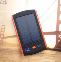 2015 New Products Solar Laptop Charger 6000mAh Large Capacity Solar Power Bank For Phone, Laptop, Camera, Digital dev