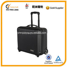 17 inch black laptop travel small trolley luggage computer bag