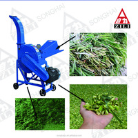 2016 hot selling chaff cutter/silage cutter/hay crusher machine
