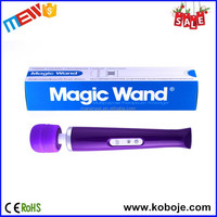 Europe 20 speeds with battery magic wand pussy self sex toys vibrant massager