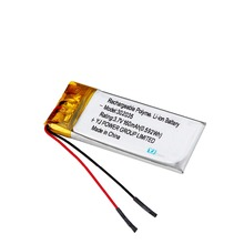 Hot selling 302035 3.7V 170mAh Rechargeable Li-polymer LiPo Lithium Battery