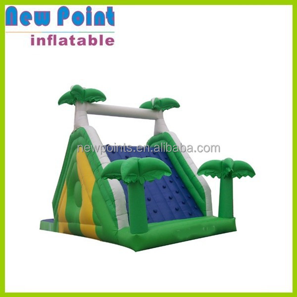 green inflatable water slide sale