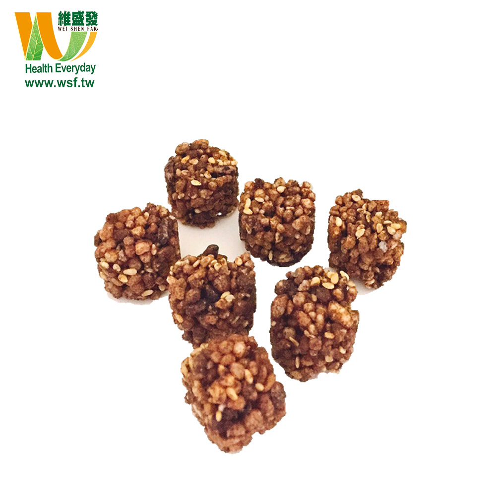 Types of Buckwheat organic nuts Cracker Chocolate fryums snacks with low price