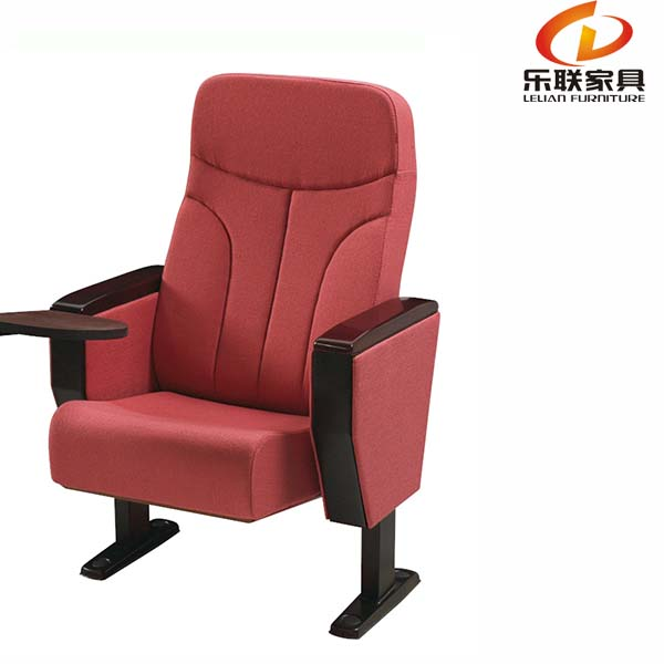 Folding chair theater chair furniture luxury auditorium cinema chair with table