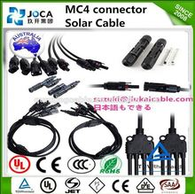 TUV Approved Waterproof Solar Power PV MC4 Connector