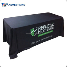 Color printed flag tablecloth with logo hot sale in American