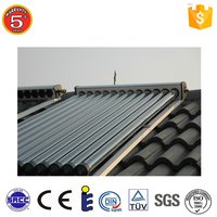 High Quality solar vacuum tube parabolic trough collector