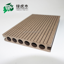 hollow plastic lumber,circular hole WPC decking,wpc flooring board