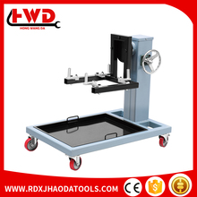 Gear box rotating engine repair stand