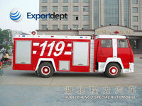 HOWO 4*2 266hp EURO3 diesel engine low price RHD&LHD fire truck light tower,aerial ladder fire truck,inflatable fire truck
