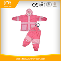 girls rain set regenjacke and pants