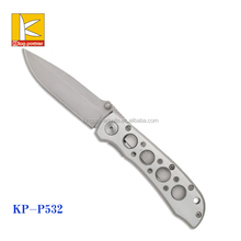 2016 canton fair new deaign Emergency Rescue Damascus Steel Knife