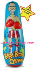 custom PVC inflatable punching bag
