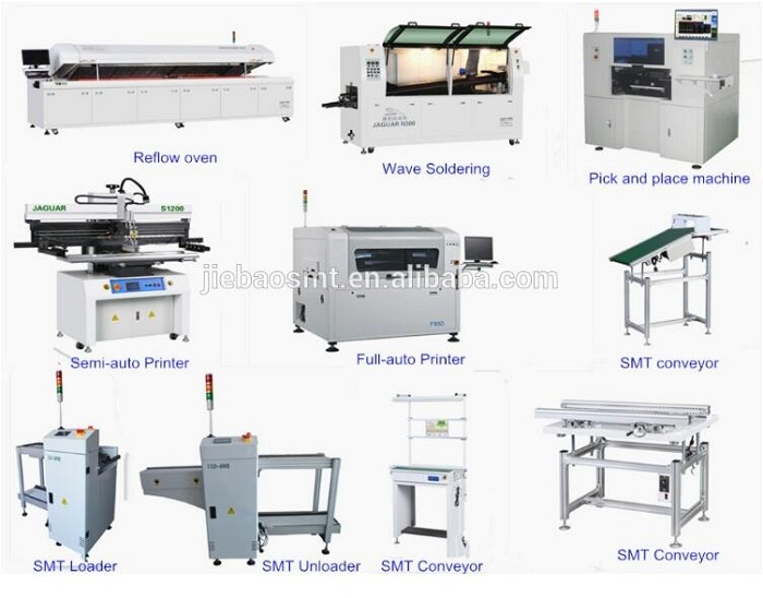 Manufacturer Supplying SMT Equipment for LED Assembly Products Complete line Solution